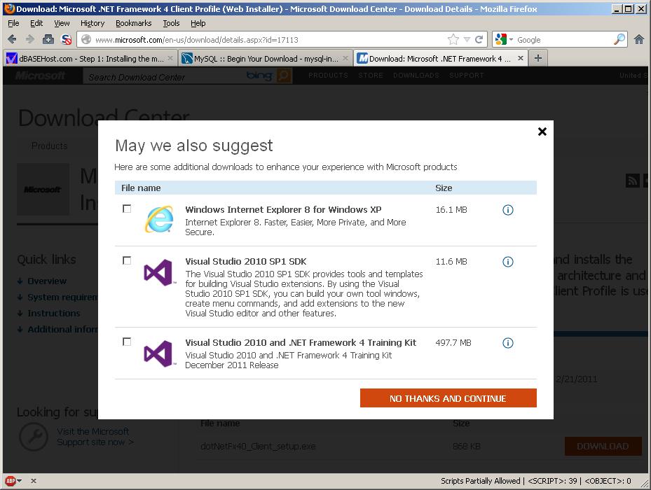 installer net framework 4